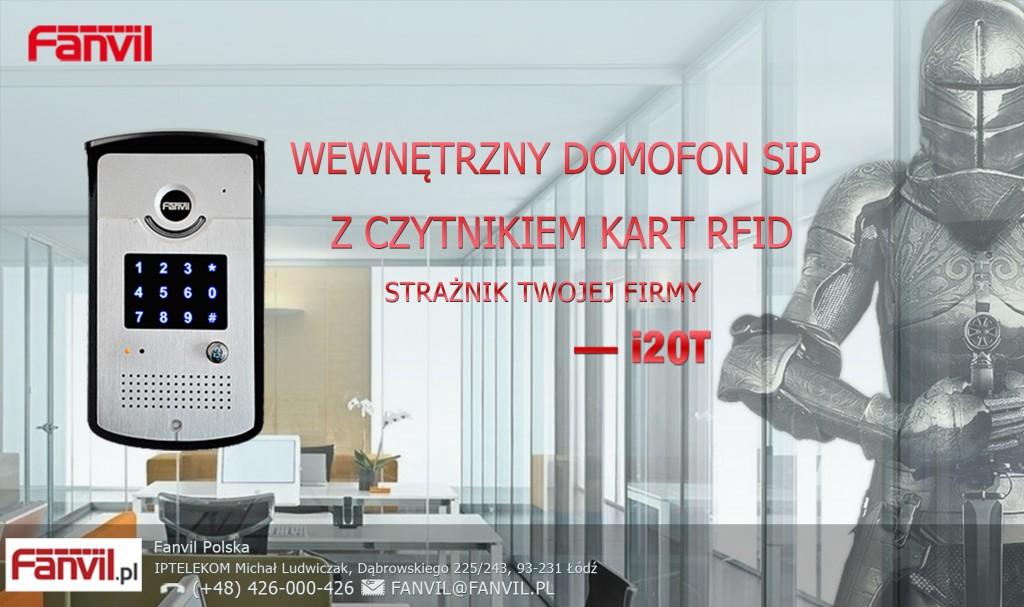 Domofon VoIP I20T