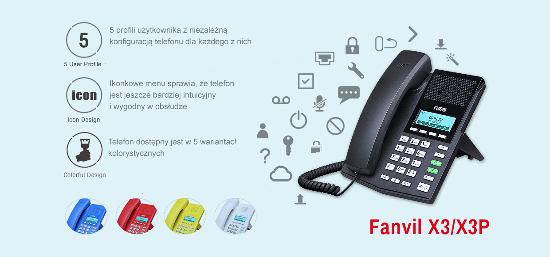 Fanvil X3/X3P